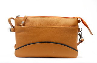 PDM Leather Shoulder Bag