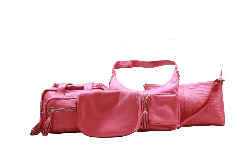 Range of Ladies bags- PINK