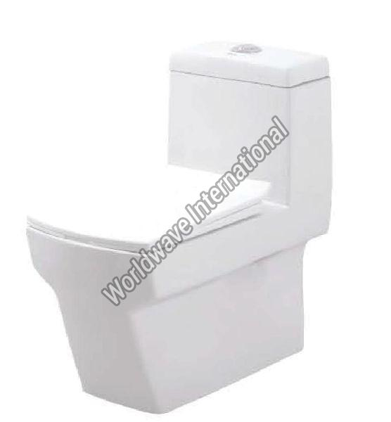 Crystal One Piece Water Closet