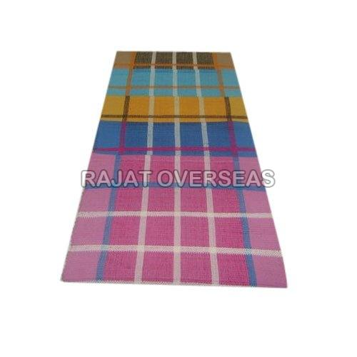 Checked Floor Rugs