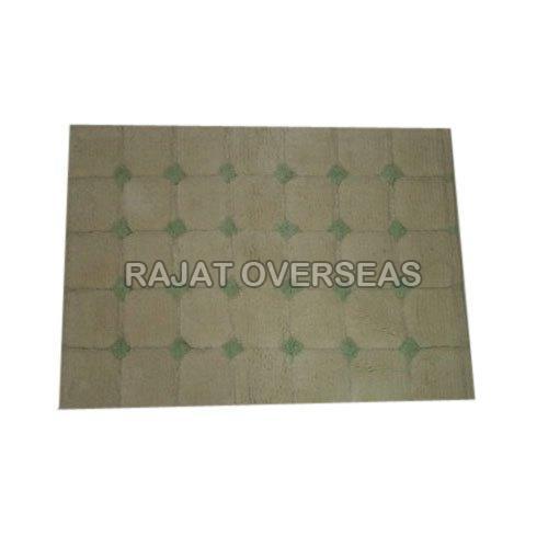 Rectangle Cotton Bath Mat