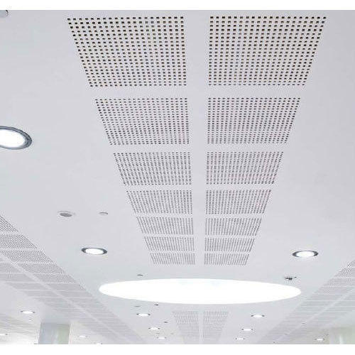 Perforated Acoustic MGO Ceiling