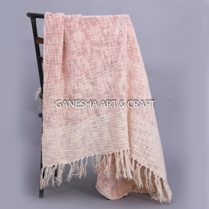 Plain Throw Blankets