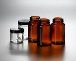 Glass Tablet Bottle