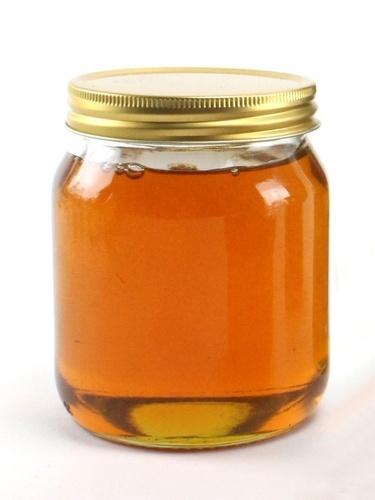 Glass Honey Jar
