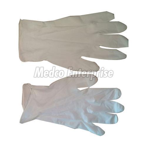 White Examination Gloves