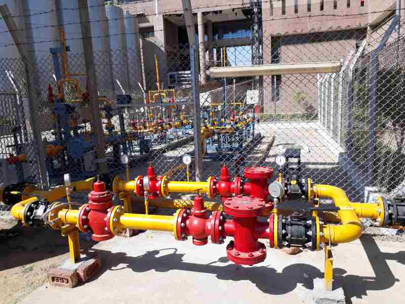 LPG & PNG High Pressure Gas Train 02
