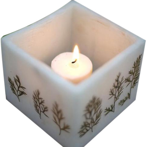 Hollow Wax Candle