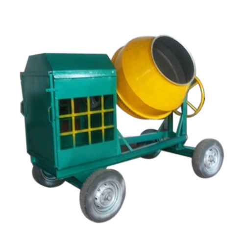 Automatic Concrete Mixer Machine