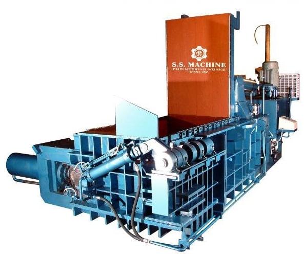 Hydraulic Scrap Baler Machine