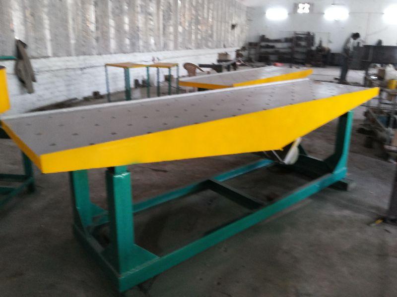 Paver Block Vibrator Table
