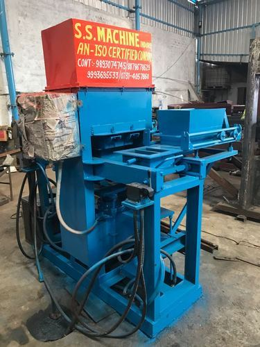 Semi Automatic Cement Brick Making Machine