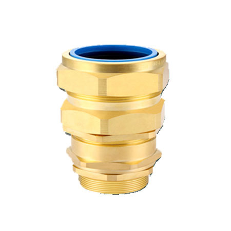 Brass E1FW Type Cable Gland