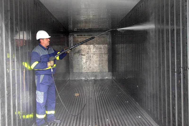 Container Cleaning Services