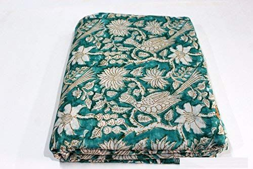 Cotton Block Printed Sewing Fabric