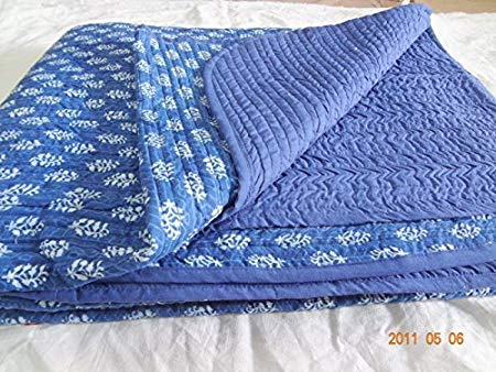 Hand Block Print Cotton Baby Quilts
