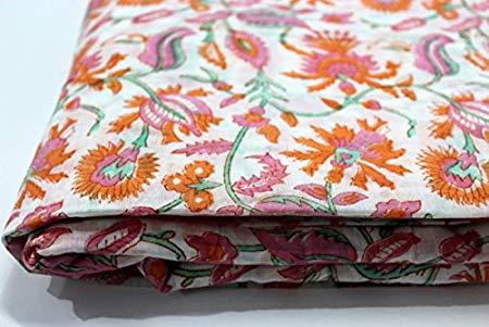 Jaipur Print Cotton Cambric Fabric