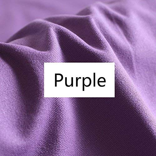 Purple Cotton Duck Canvas Cloth