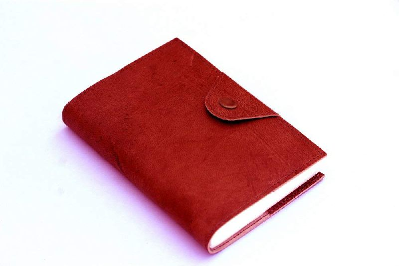 Red Exclusive Travel Leather Journal Diary
