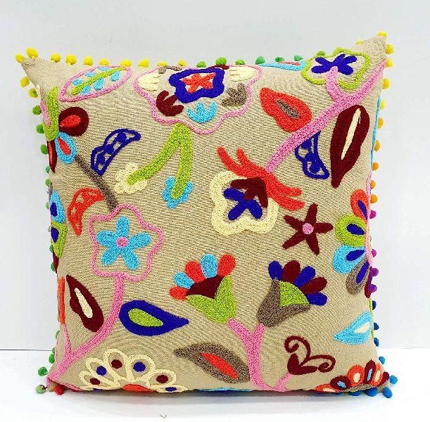 Suzani Retro Decorative Cotton Square Cushion Cover