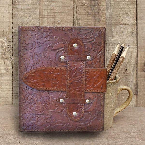 Sketch Drawing Leather Journal Diary