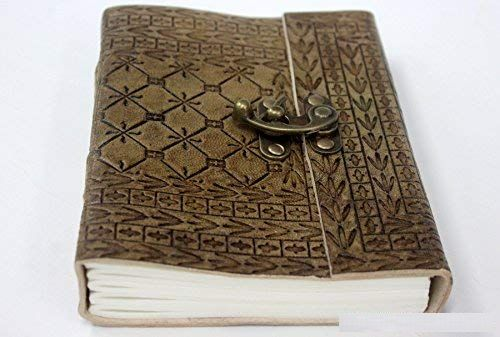 Unique Pure Leather Lock Diary Journal