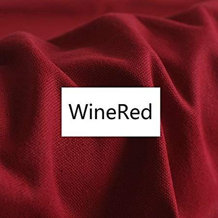 Wine Red Cotton Duck Canvas Cloth