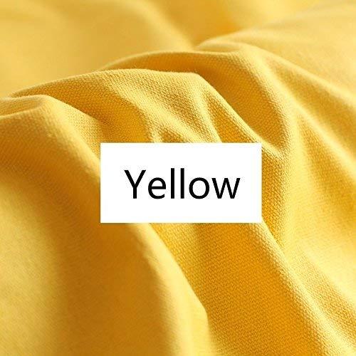 Yellow Cotton Duck Canvas Cloth