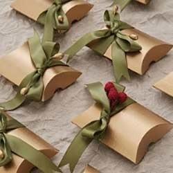 Green Gift Packing Ribbon