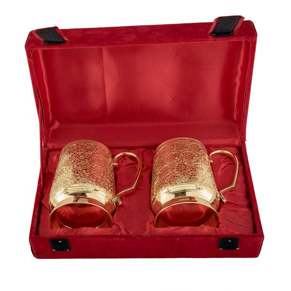 Brass Mug Set