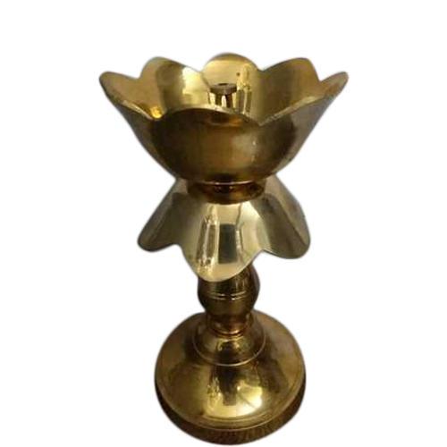 Kamal Deep Brass Diya Stand