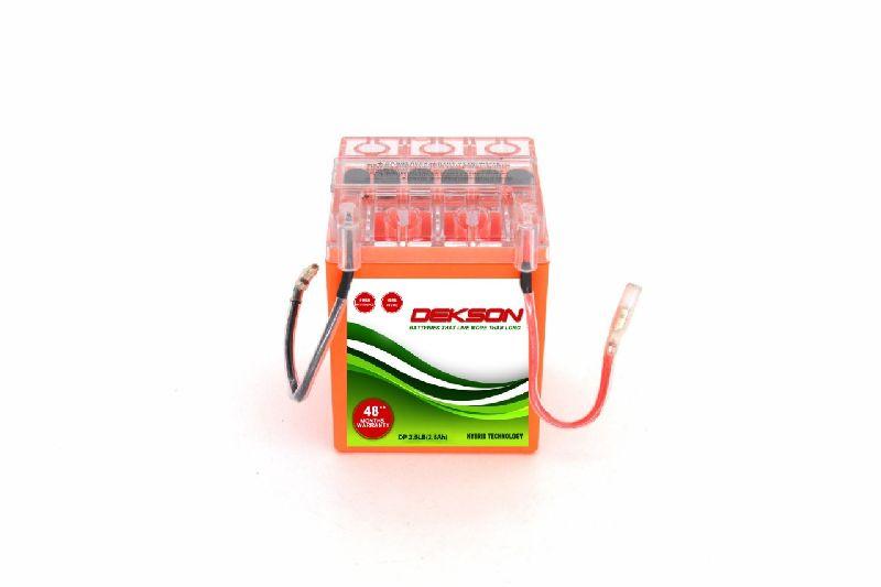 12V 2.5Ah Bike Battery