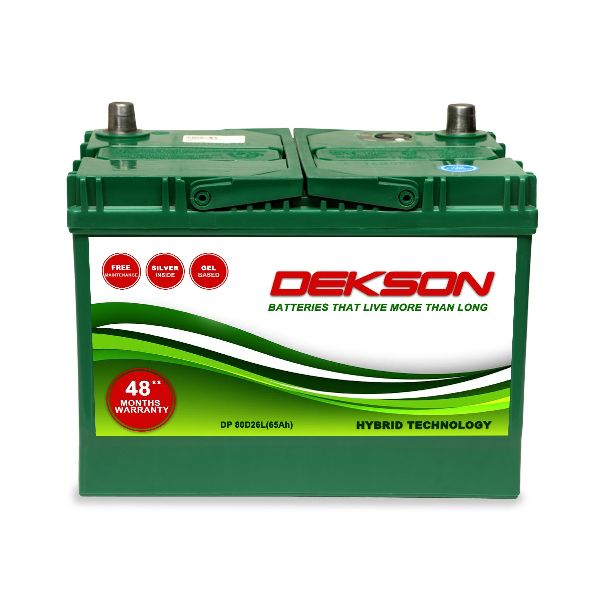 12V 65Ah Car Battery