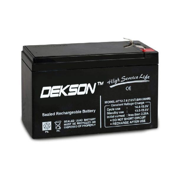 12V 7.6Ah SMF Battery
