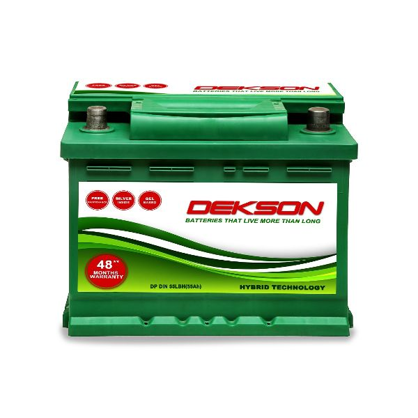 12V Din 55Ah Car Battery