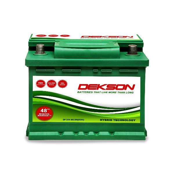 12V Din 65Ah Car Battery