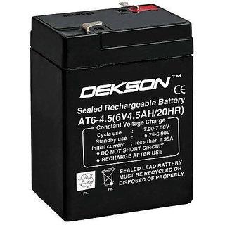 6V 4.5Ah SMF Battery