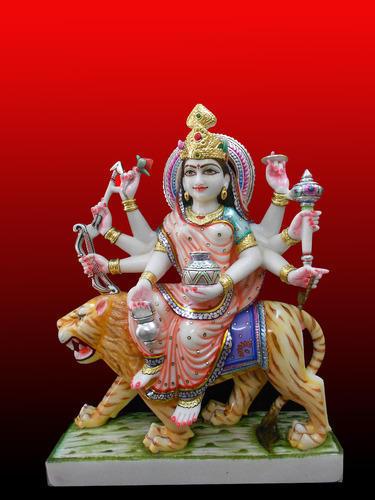 Marble Chandraghanta Maa Status