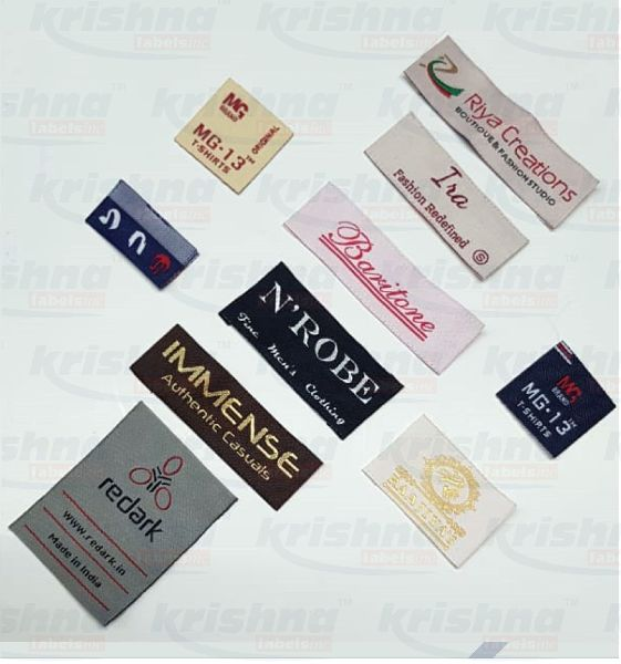 Customized Woven Labels Fabric