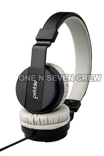 Pebble Echo Black Headphone