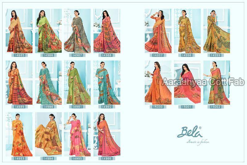 Bela Printed Sarees