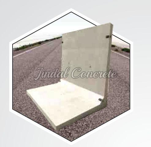 Grey Retaining Wall
