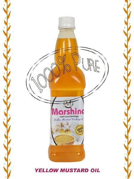 Cold Pressed Yellow Mustard Oil