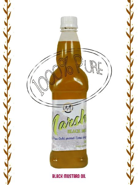 Cold Pressed Black Mustard Oil