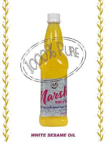 Cold Pressed White Sesame Oil