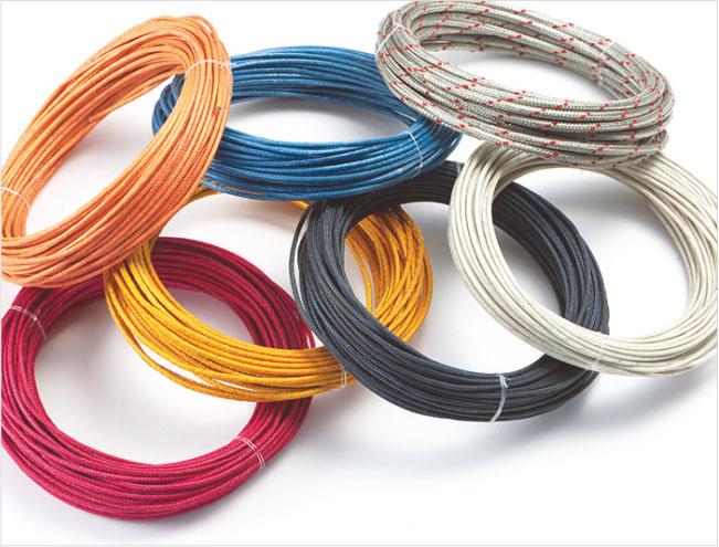 Fiberglass Coated Wire