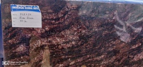 River Brown Granite Slab