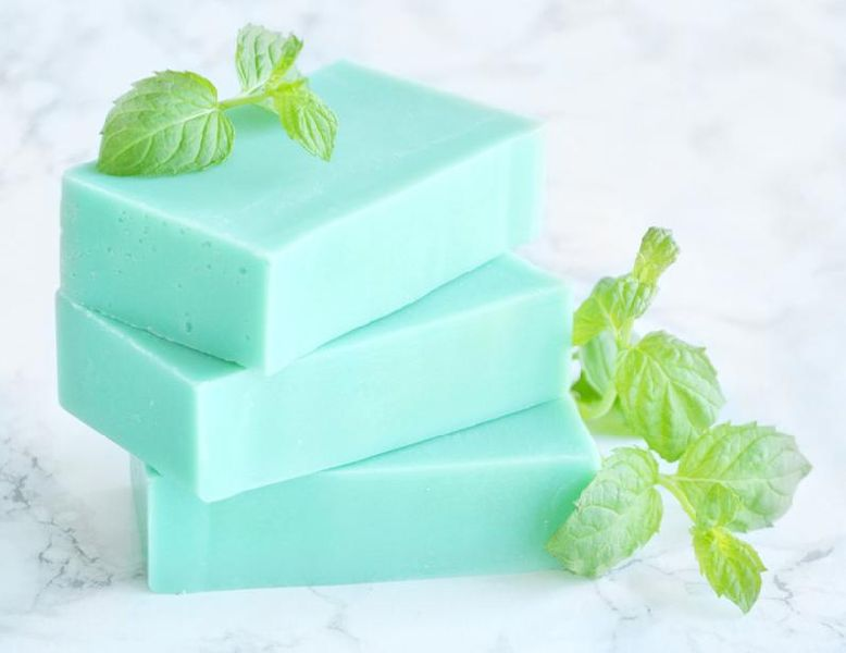 Mint Handmade Bath Soap
