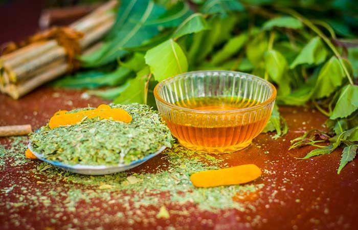 Neem and Lemon Herbal Facial Cleanser