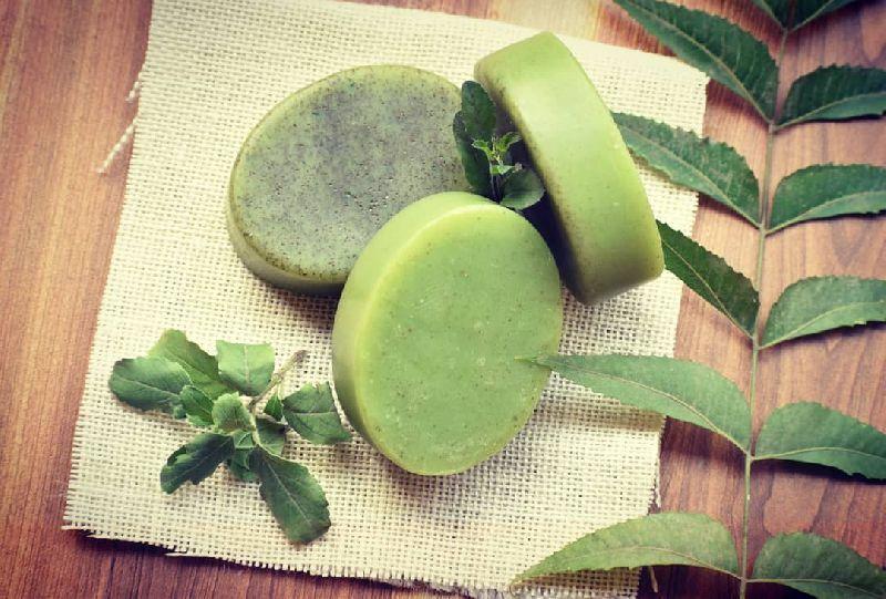 Neem and Tulsi Handmade Bath Soap